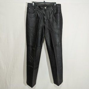 Newport News Leather Pants Size 16